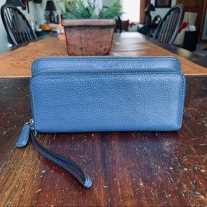 Coach Park Double Zip Wallet F51725*REDUCED*